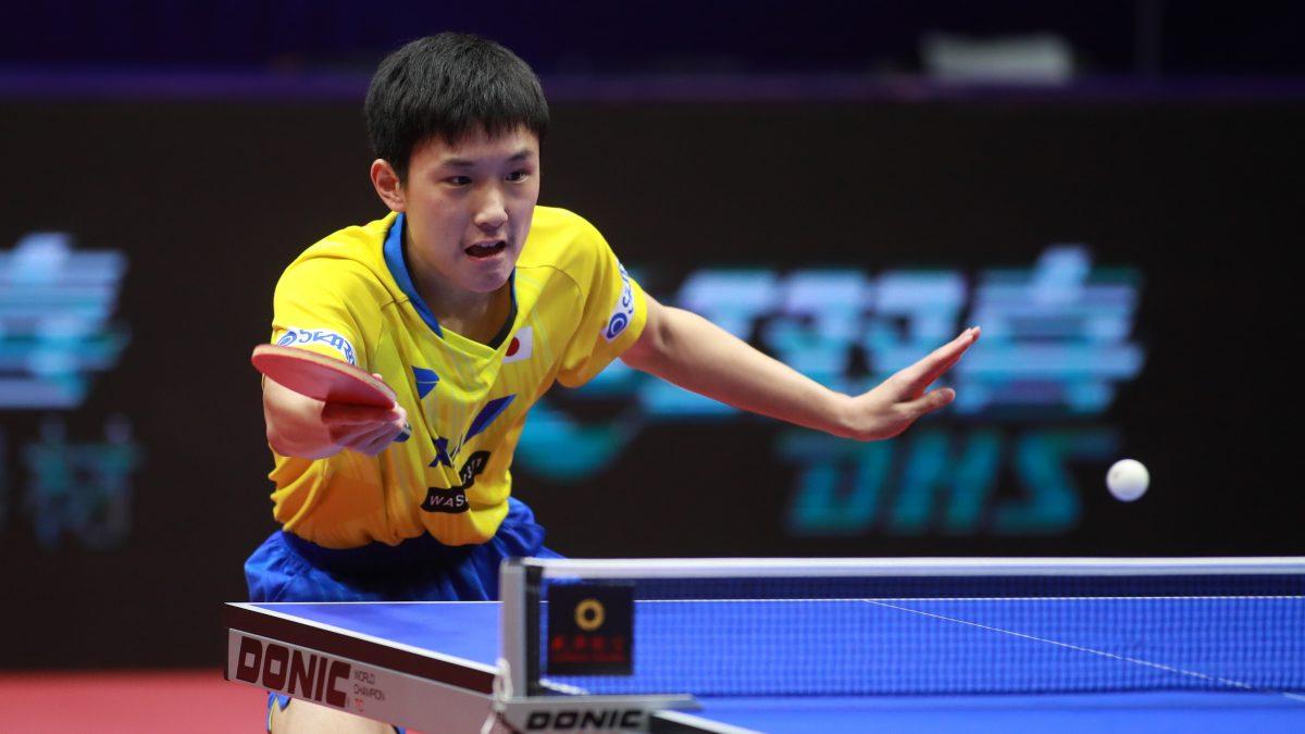 """張本智和のバックに吉村真晴のサーブ…ITTF、""""夢の最強卓球選手""""を考える企画開催"""