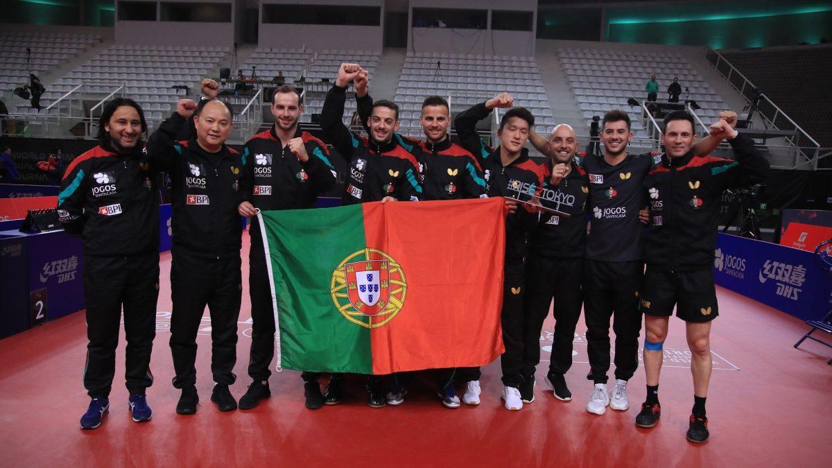 """""""三銃士""""も躍動 欧州卓球界でポルトガル代表の存在感強まる"""