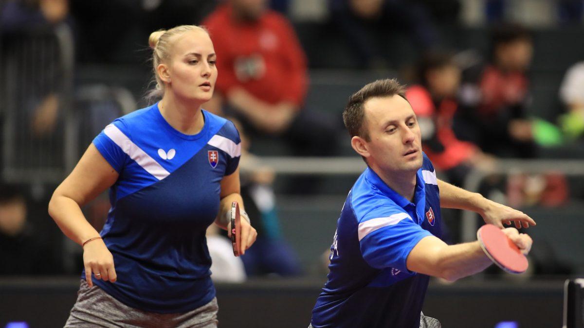卓球スロバキア代表、コーチがオンラインで選手を指導 工夫して練習