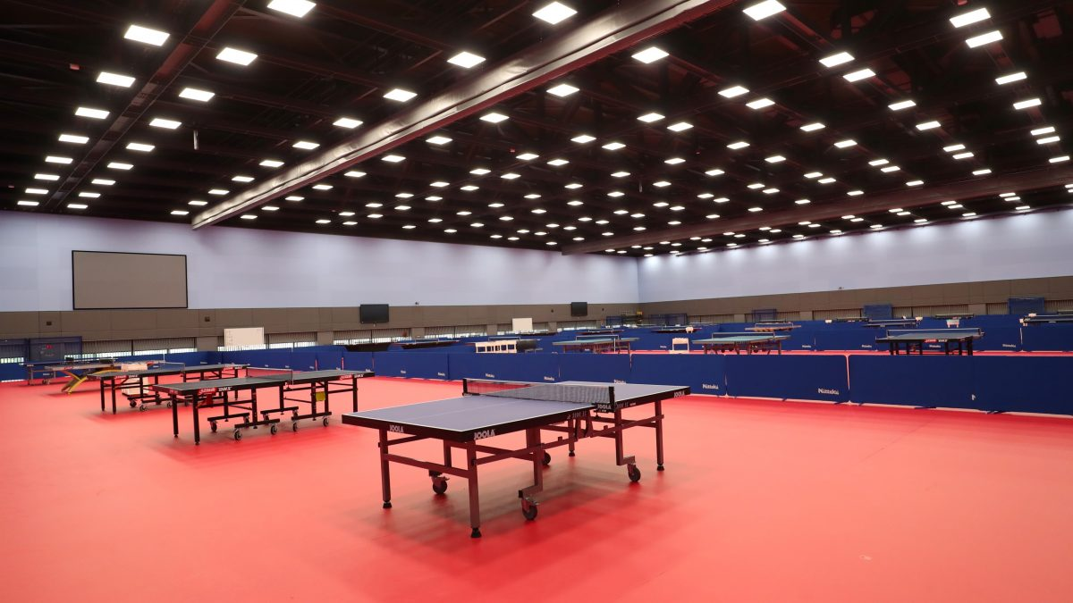 卓球日本代表選手の練習拠点・NTC、27日より個人利用再開
