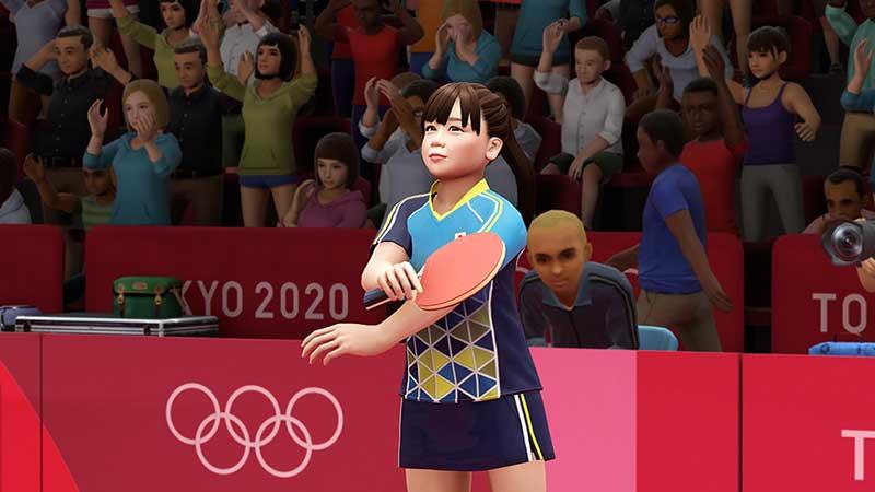 福原愛、張本智和が東京五輪公式ゲームに登場 シングルス・ダブルスで対戦可能