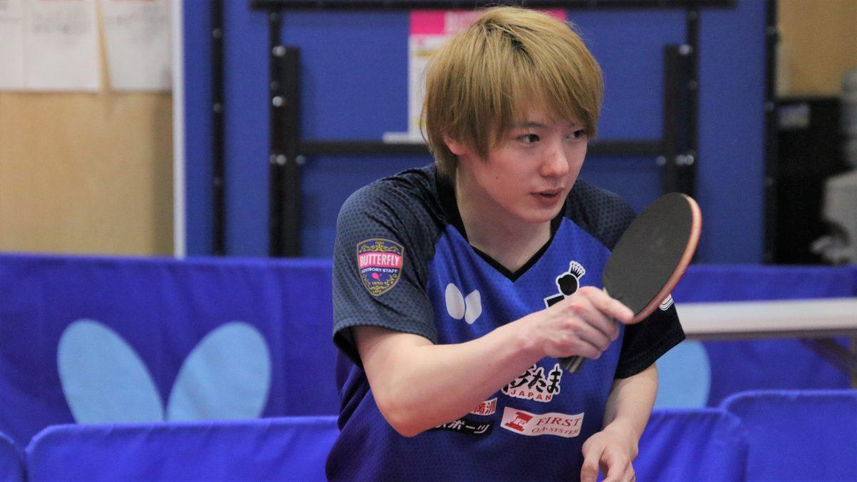 元卓球日本代表・松平健太、学生にエール 「次に向けてやることが大事」