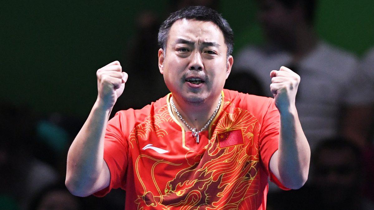 写真:中国卓球協会会長・劉国梁(リュウグォリャン)氏/提供:ittfworld