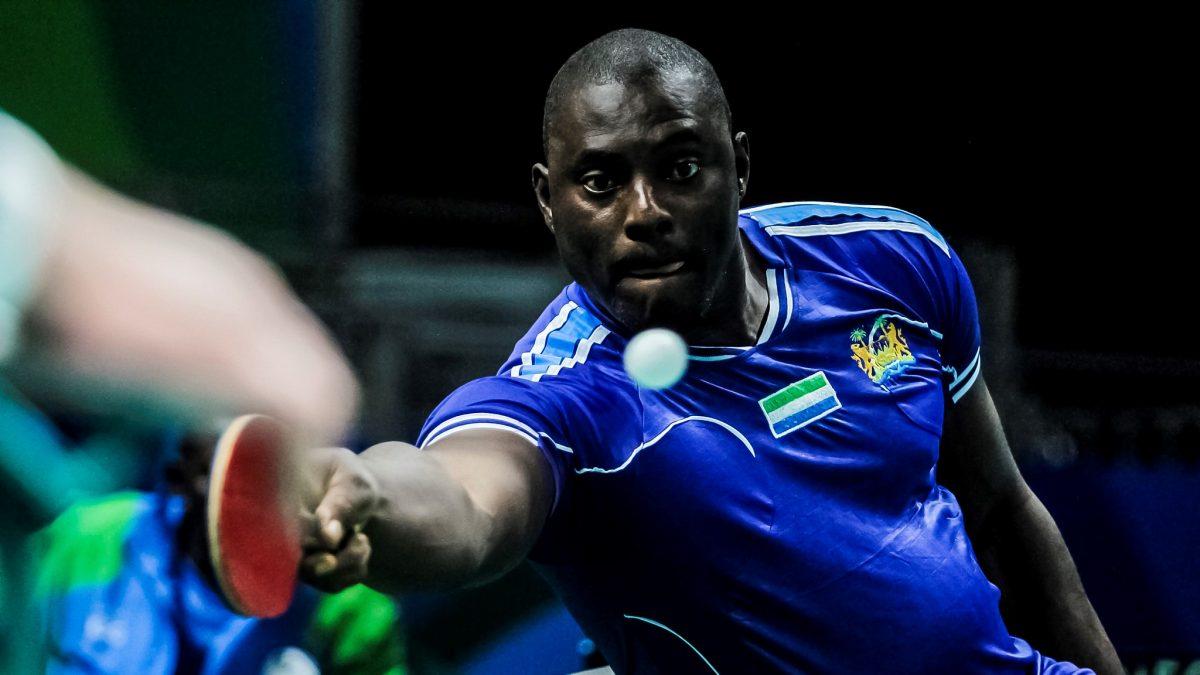 シエラレオネのパラ卓球選手、コロナ予防の啓発活動 パラリンピアンの影響力活かす