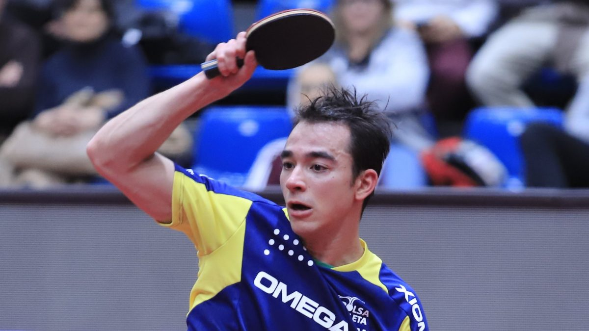 昨季王者、大逆転 カルデラノがエース対決制す<卓球 ブンデスリーガ>
