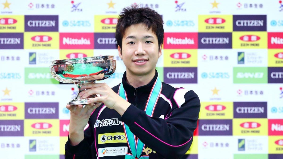 水谷隼 誰よりも全日本を知り、誰よりも全日本を勝った男