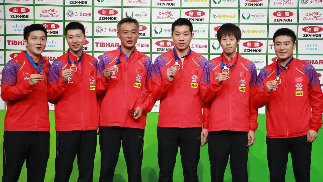 卓球中国代表、8月に東京五輪模擬大会を開催 中国人Tリーガーも参戦へ