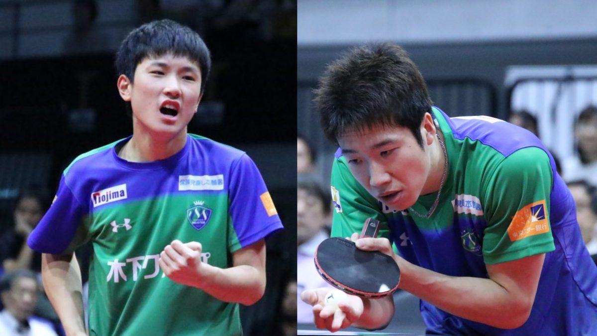 張本智和、水谷隼のドリームマッチ参戦決定 開催日程も決まる