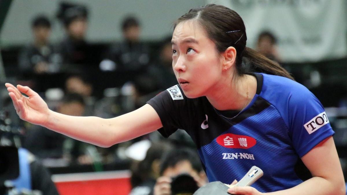 石川佳純、オンライン卓球教室開催へ YouTubeでライブ配信実施
