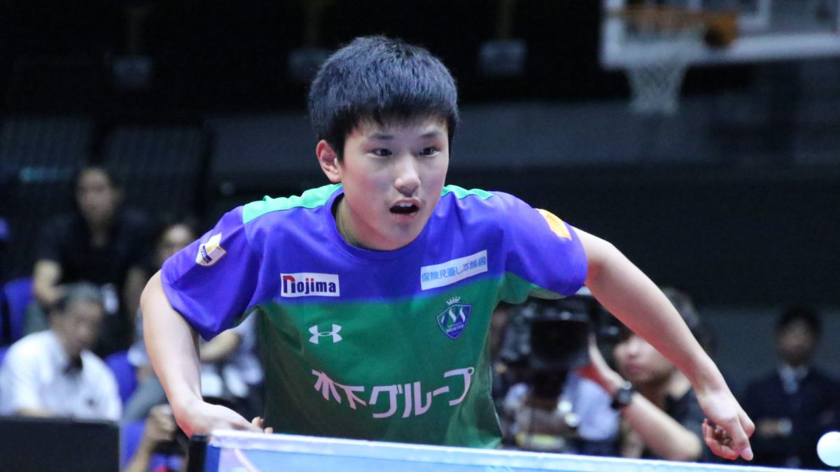 張本智和、3季目も木下マイスター東京と契約 Tリーグ3連覇狙う