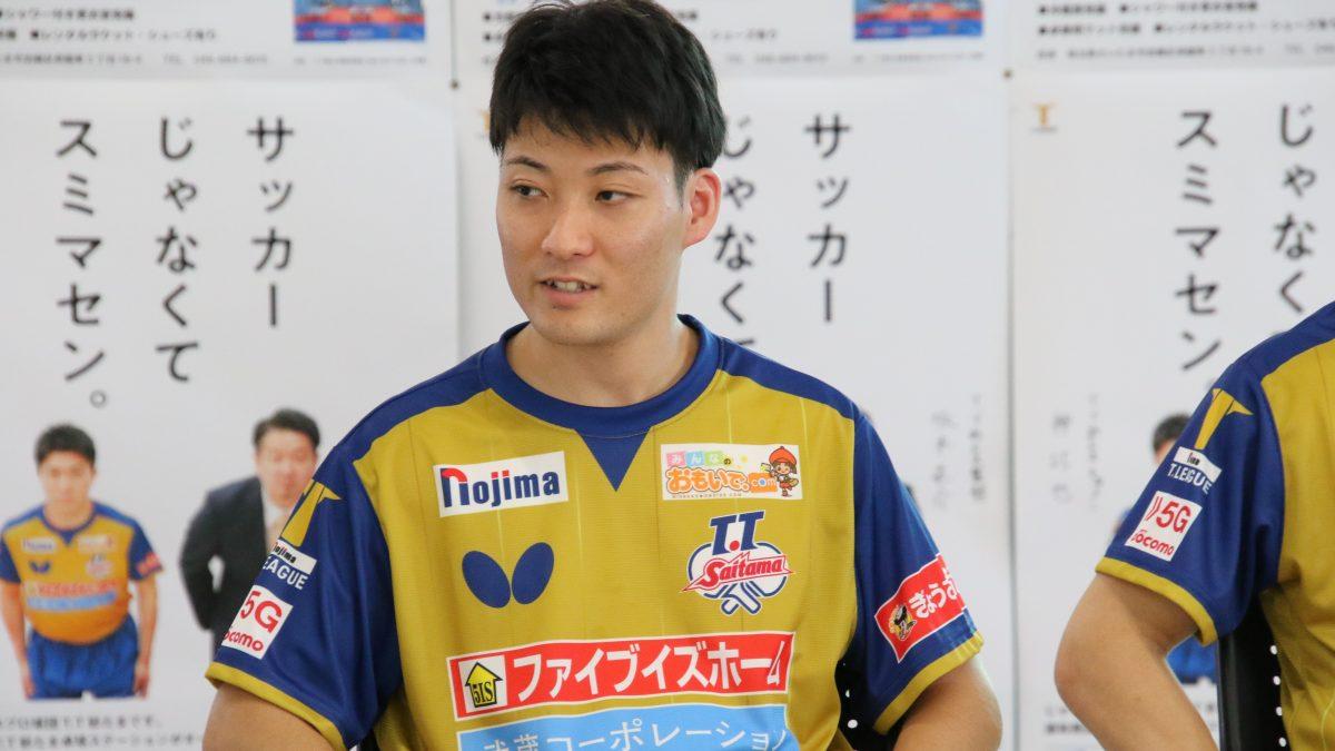 """""""逆輸入""""のプロ卓球選手・英田理志だけが持つ「ストーリーを作る権利」"""