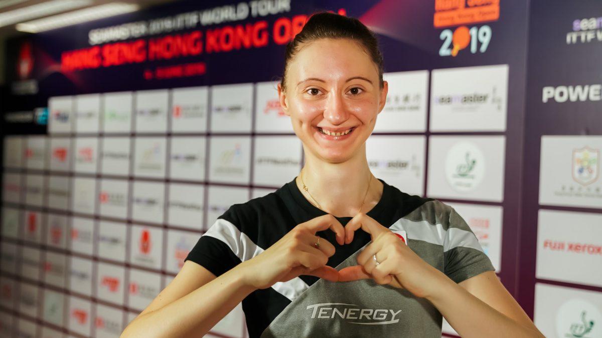 オーストリアのエース・ポルカノバ「人生最高の日」 結婚発表に国際卓球連盟も祝福