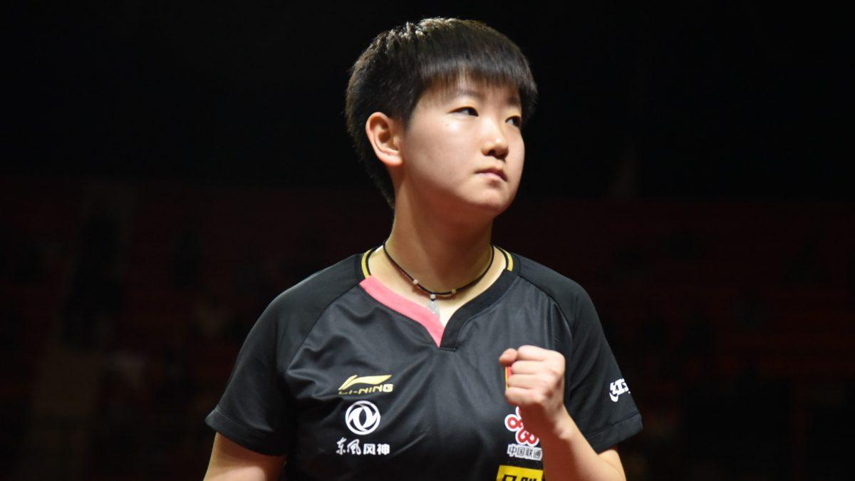 【今週の卓球】中国の東京五輪模擬大会、孫穎莎が2冠
