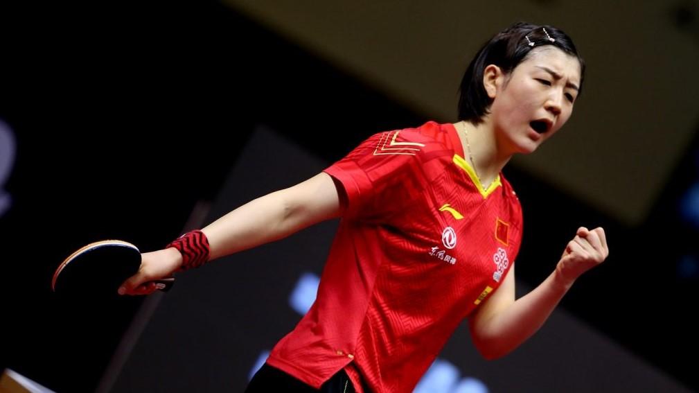 世界ランク1位・陳夢、中国女王に 19歳の挑戦跳ね返す<卓球 全中国選手権・女子単>