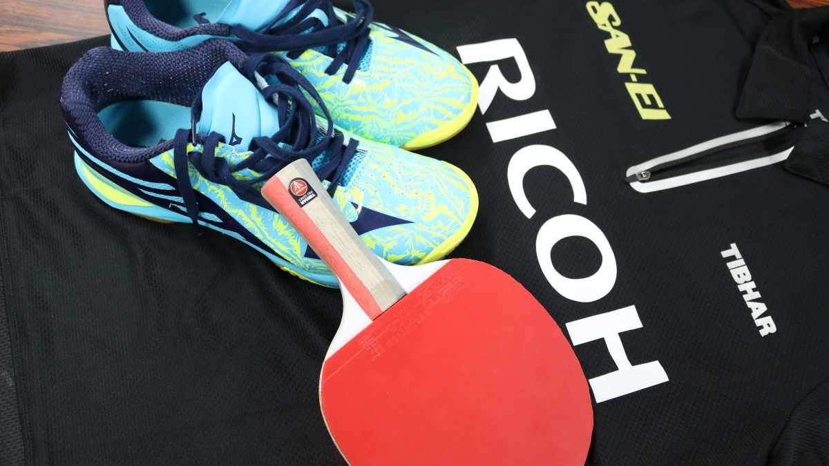 宮本幸典(リコー)の用具紹介|俺の卓球ギア#76