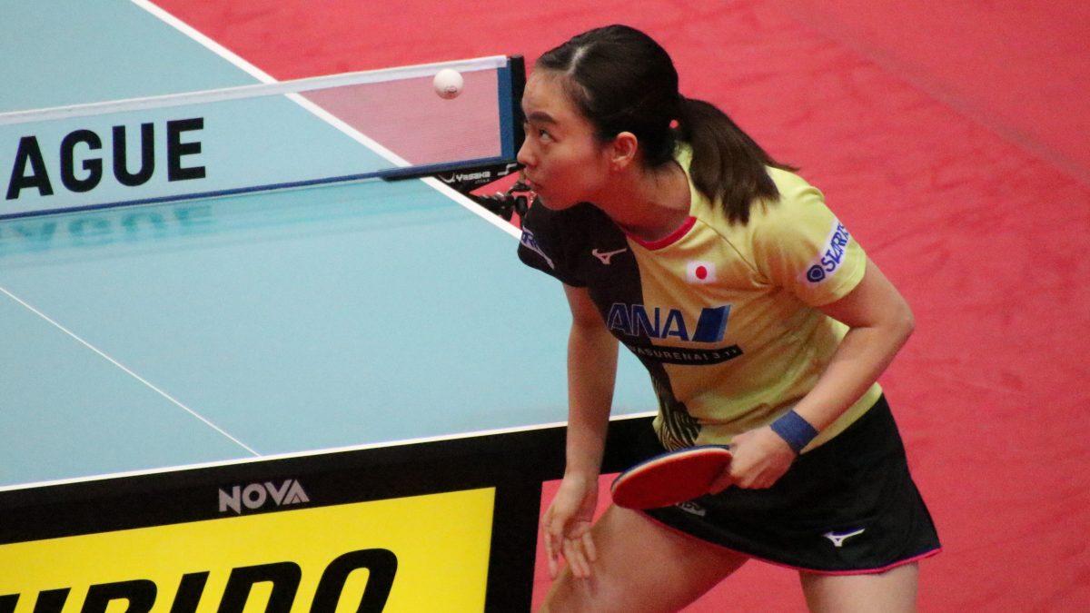 【今週の卓球】石川佳純「新しい一歩」 オールスターで卓球界が再開