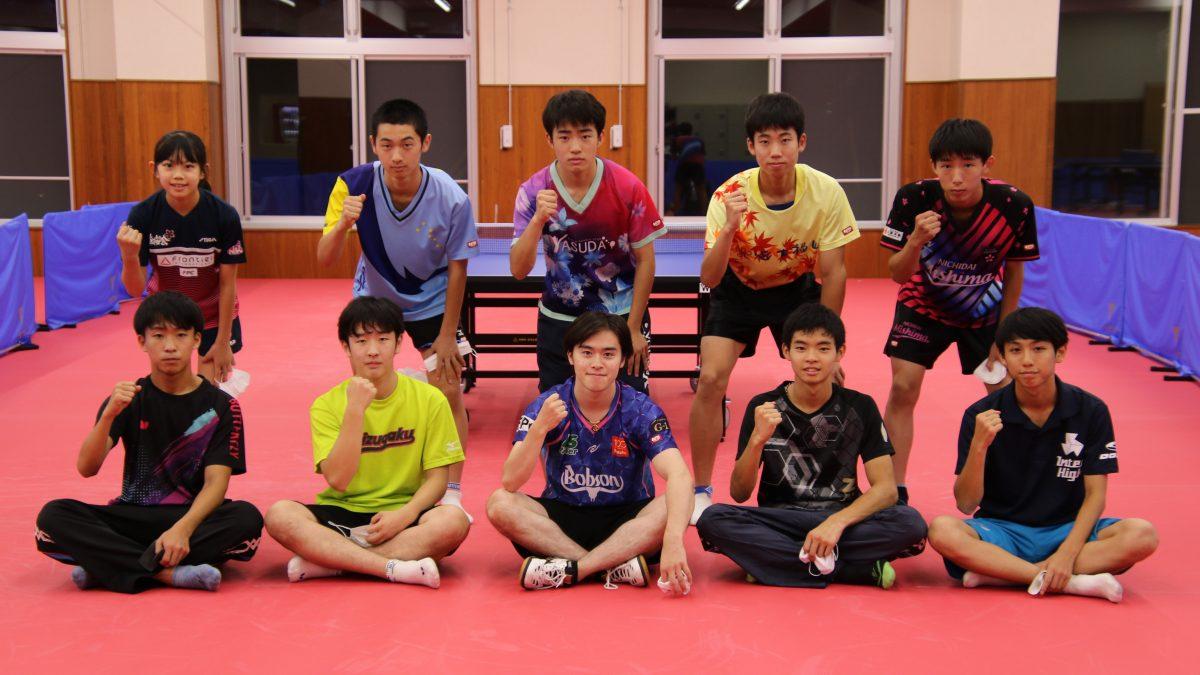 卓球日本代表・森薗政崇、高校生強化合宿を開催 現役トップ選手が学生卓球界に恩返し
