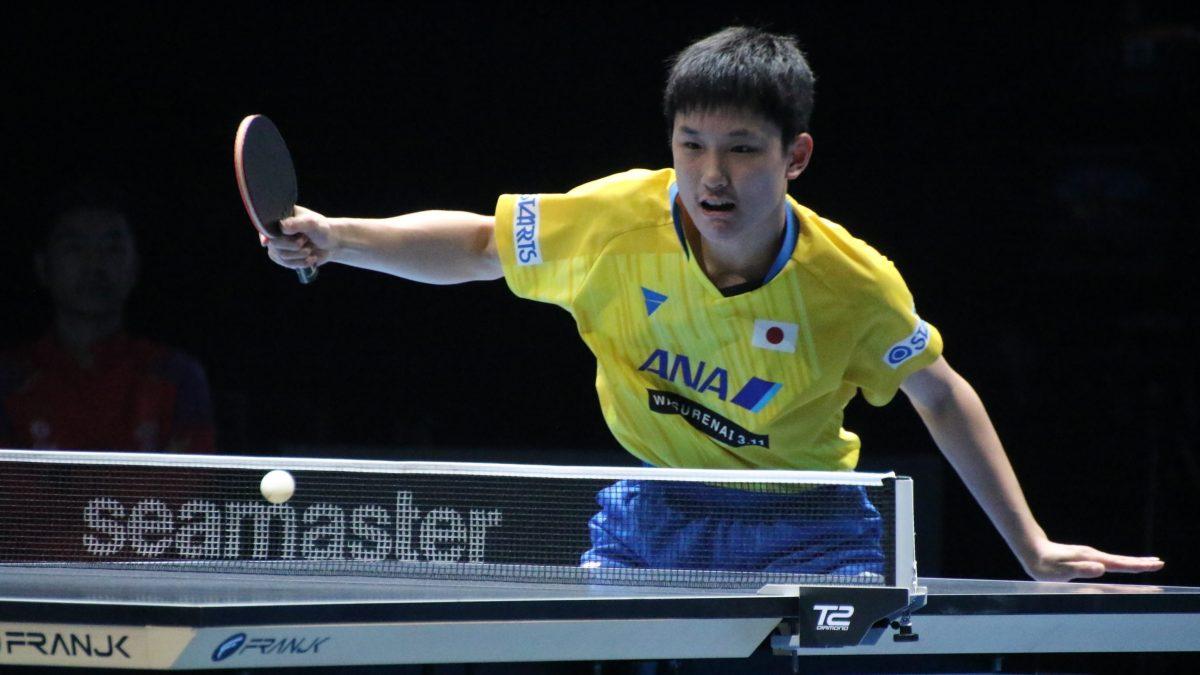 張本智和、 ボクシング元世界王者とトレーニング 「必ず卓球に活かせる」