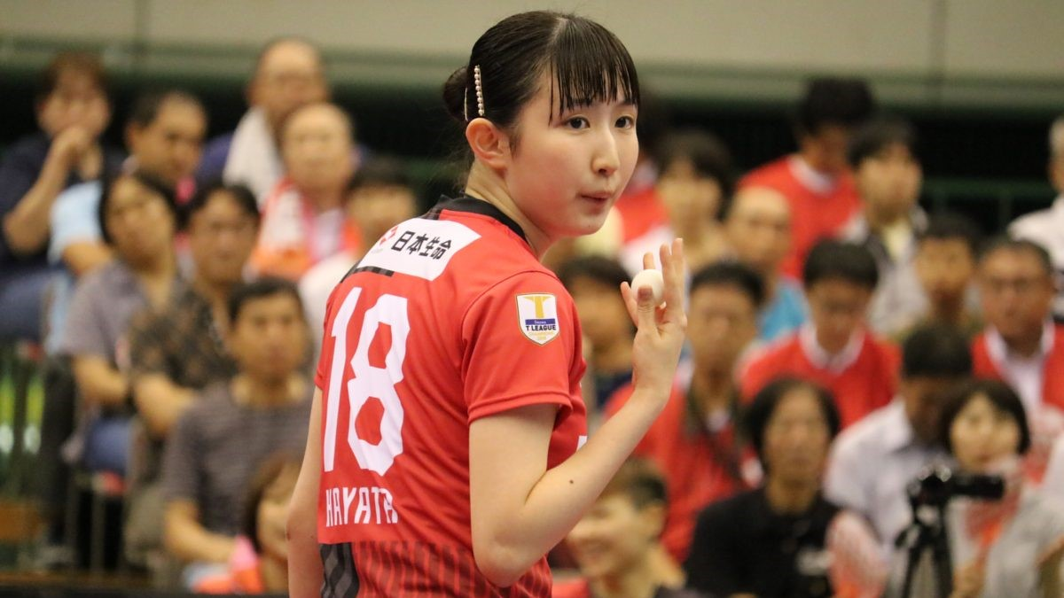 ドリームマッチまで2週間 「卓球をみんなで応援しようキャンペーン」に早田ひな登場