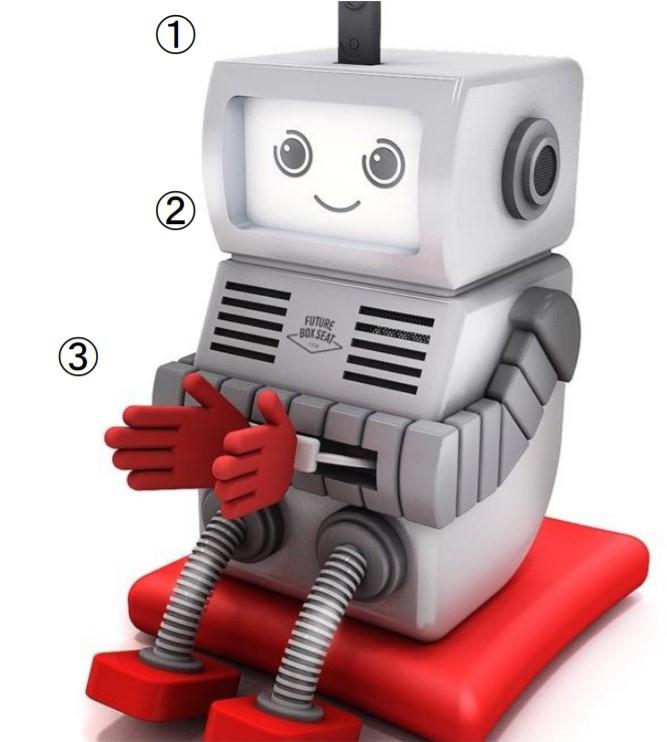 写真:ロボットを活用したリモート観戦席/提供:Tリーグ
