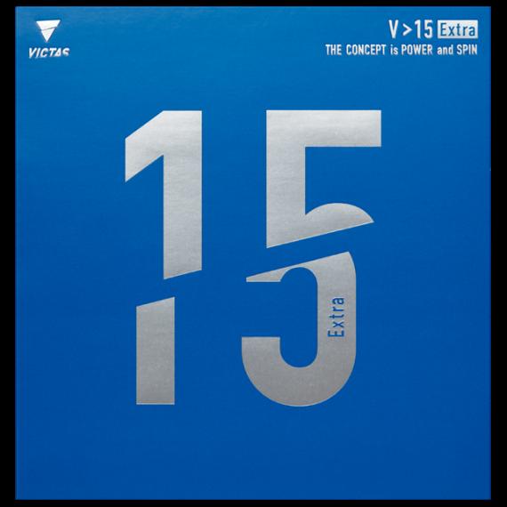 VICTASの卓球ラバー「V>15」シリーズを徹底比較 総合力に優れたラバー