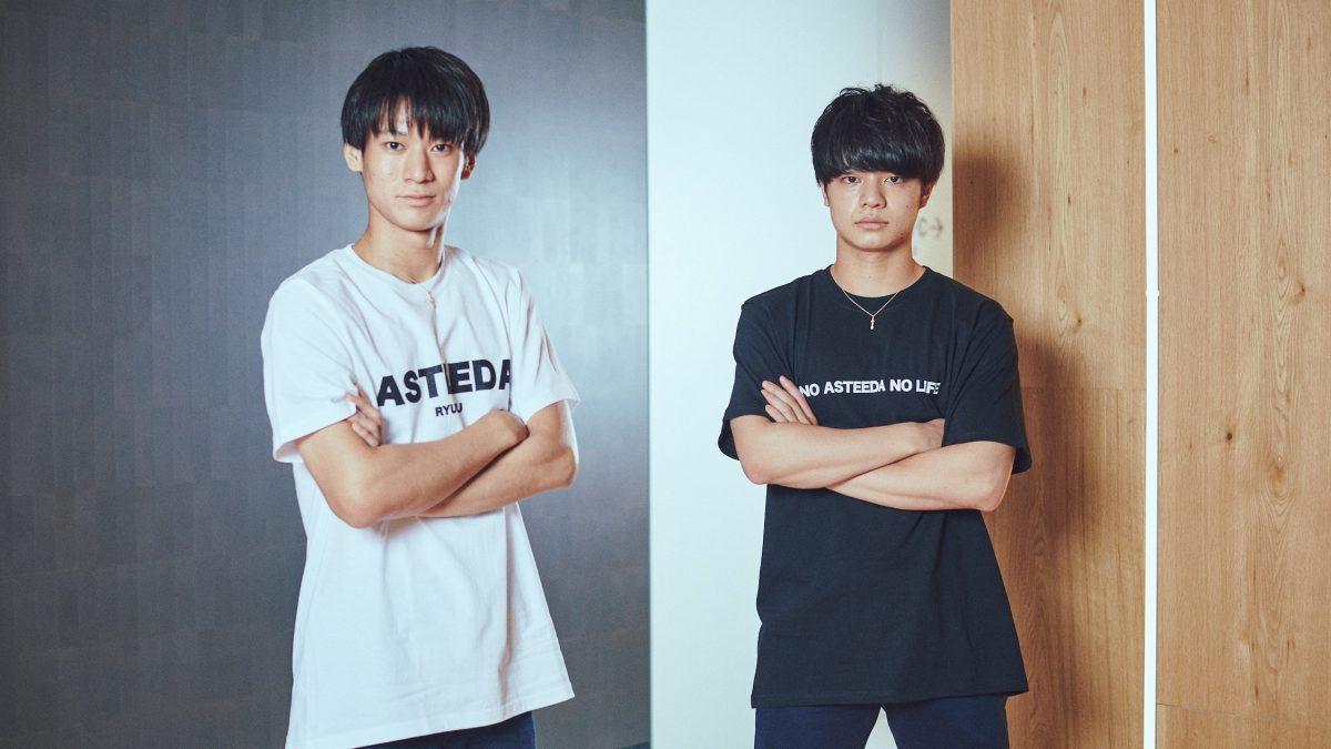 写真:戸上隼輔(写真左)・宇田幸矢(ともに明治大学)/撮影:伊藤圭