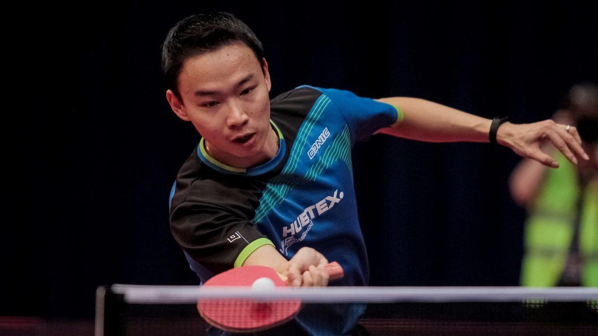 36歳のカットマン・王熹、4戦4勝でチームは2位浮上<卓球・ブンデスリーガ>