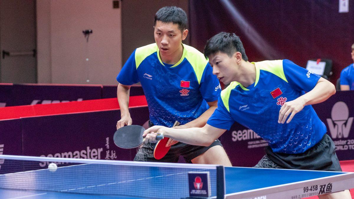 世界2位・許昕と世界3位・馬龍ペア、粘りの卓球で頂点に<全中国選手権・男子複>