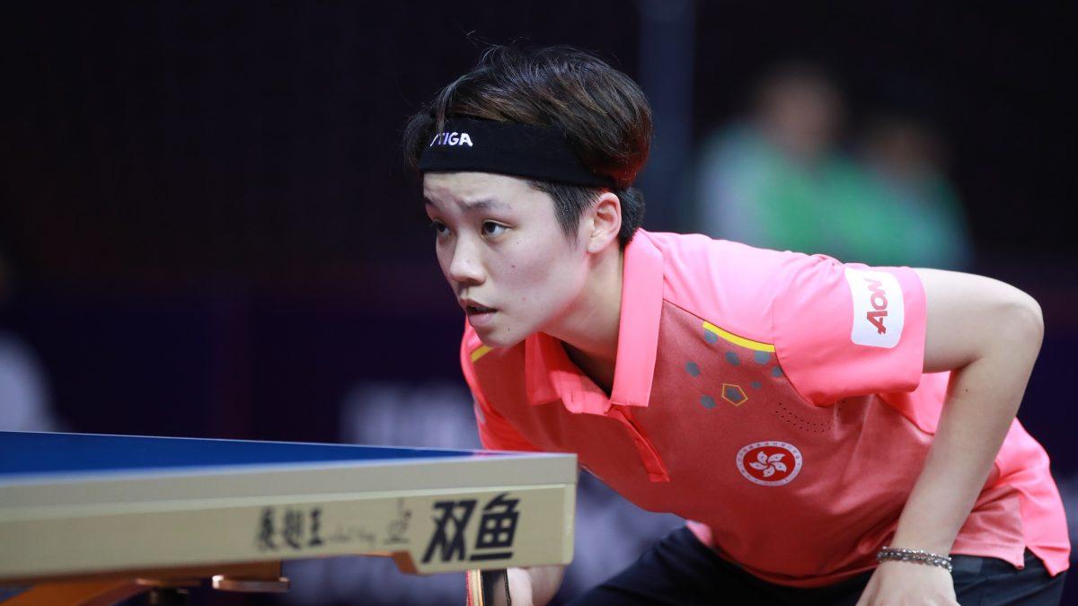 香港女子エース杜凱琹、男子団体に出場<卓球・第2回香港国内大会>