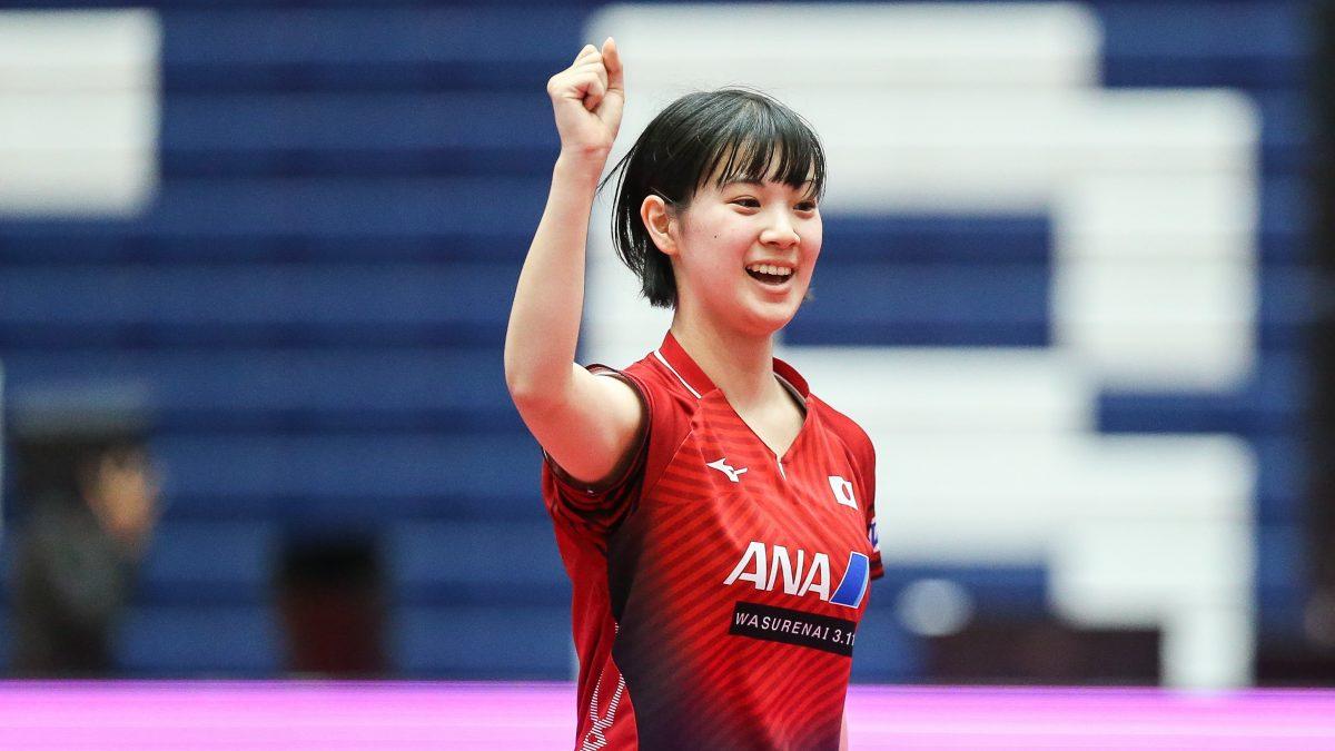 長﨑美柚のアヒル走りが「可愛い」と話題に 緊迫した決勝の微笑ましい一幕