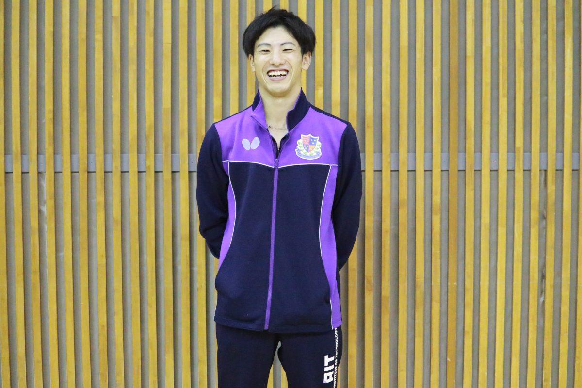 写真:松山祐季(愛知工業大学)/提供:東海学生卓球連盟