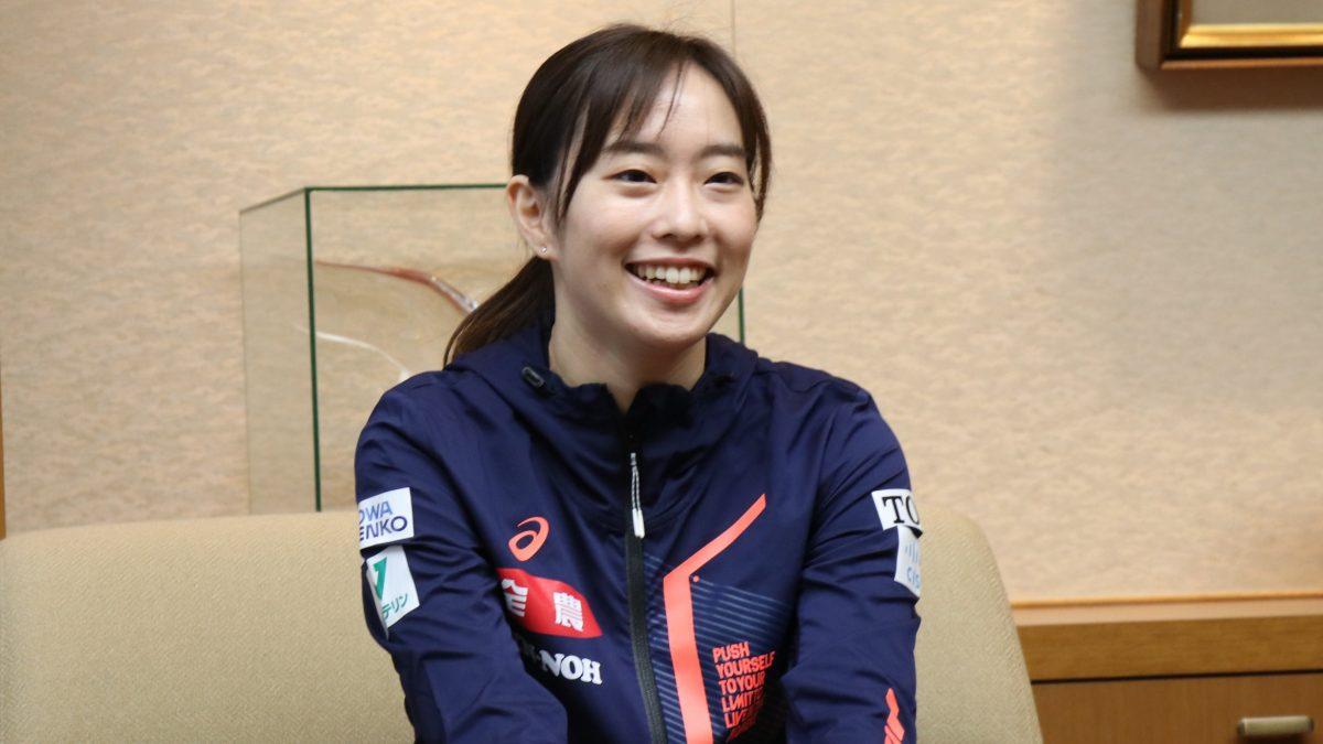 石川佳純「最高のプレーができるように」 再開する国際大会での活躍誓う