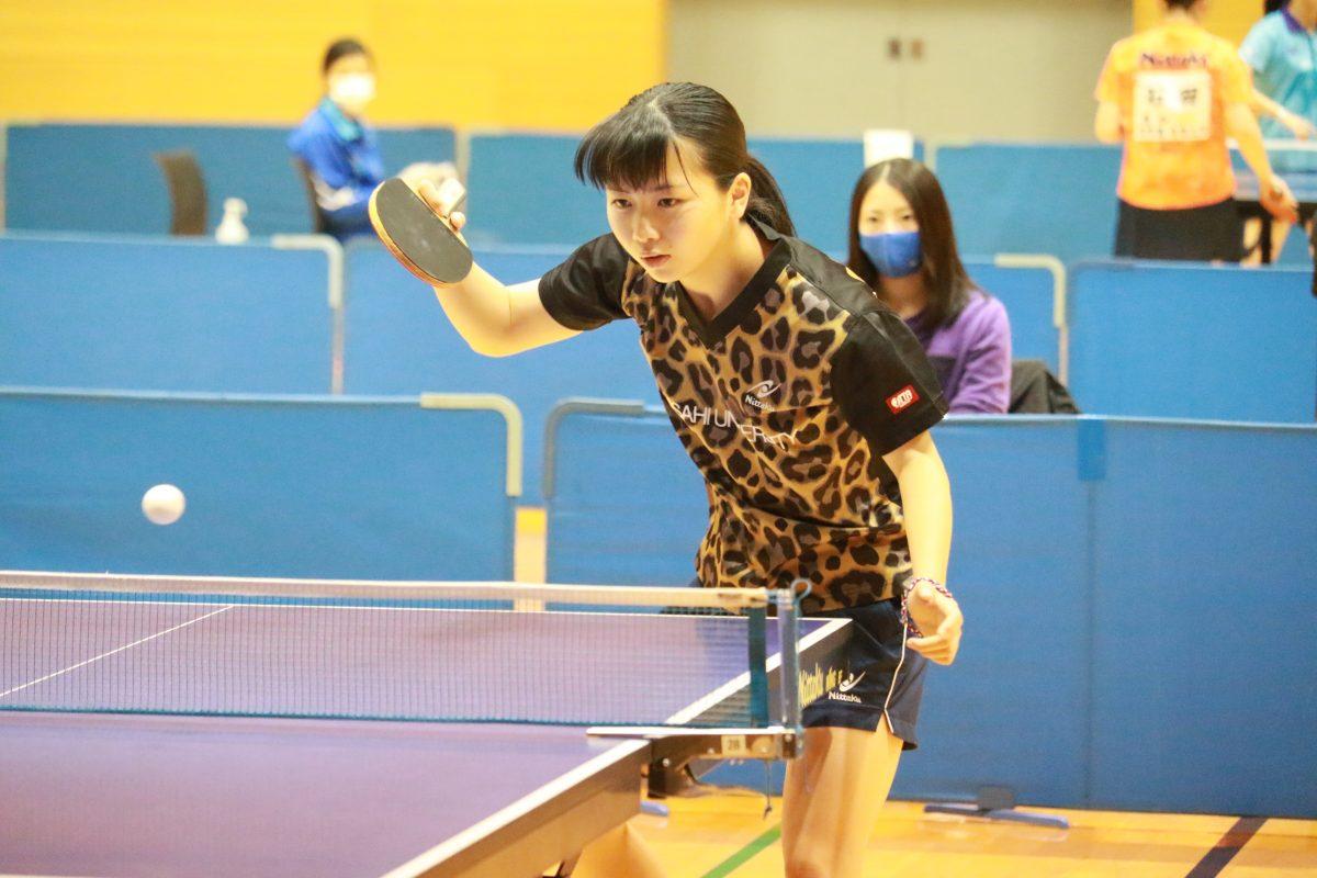 写真:岩田明峰(朝日大学)/提供:東海学生卓球連盟