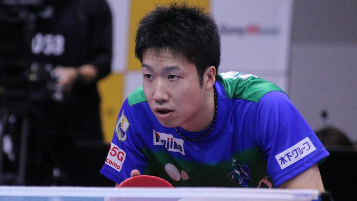 31歳・水谷隼、16歳左腕に貫禄勝ち 「林昀儒に似てる」と篠塚を高評価