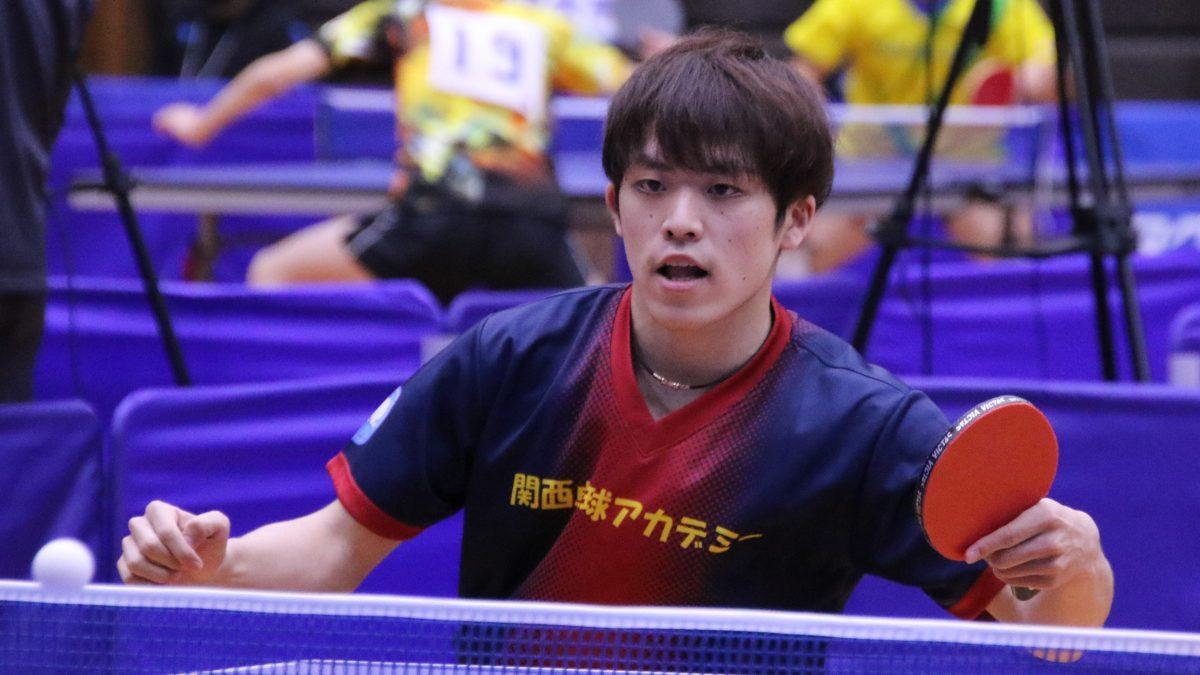 伊藤美誠の練習パートナーも務める坂根翔大、日本卓球リーグデビュー「久々の試合で楽しい」
