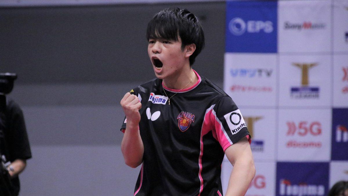 琉球の19歳・宇田幸矢「自信になった」 VMで全日本王者対決に勝利