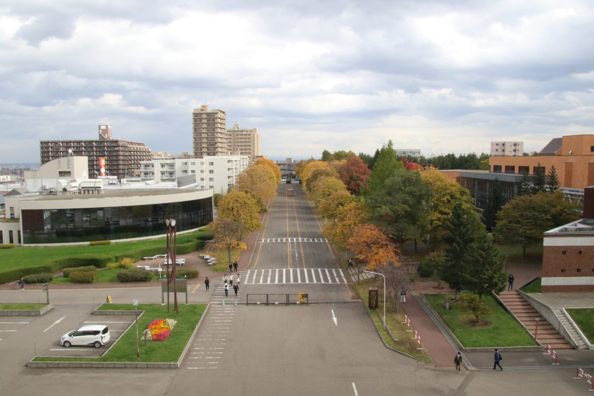 写真:緑豊かな札幌大学/撮影:ラリーズ編集部