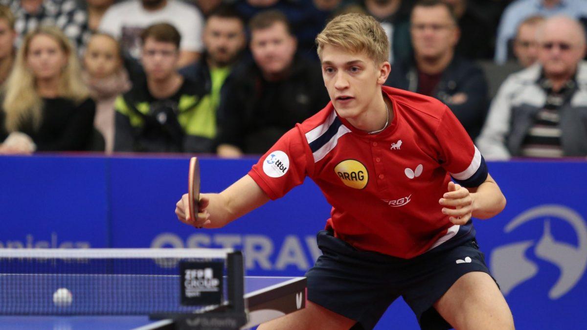 スウェーデンの若武者、今季9勝目 チームは首位キープ<卓球・ブンデスリーガ>