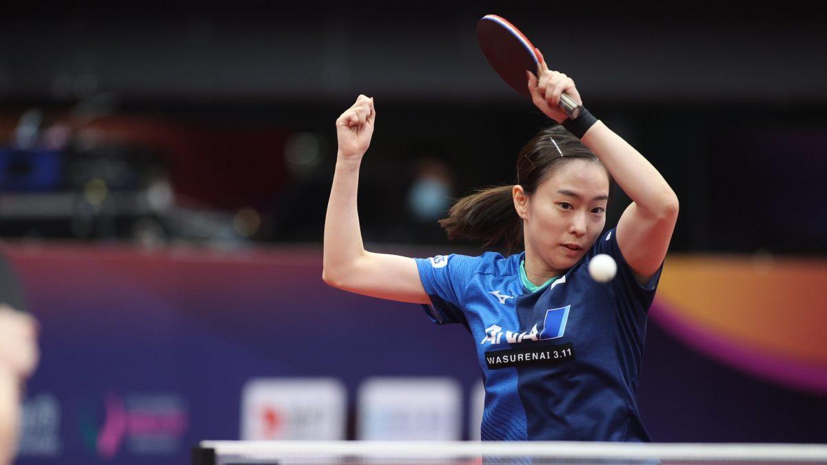 石川佳純、ベスト8で敗退 世界ランク3位・中国選手の壁高く<卓球・女子W杯>