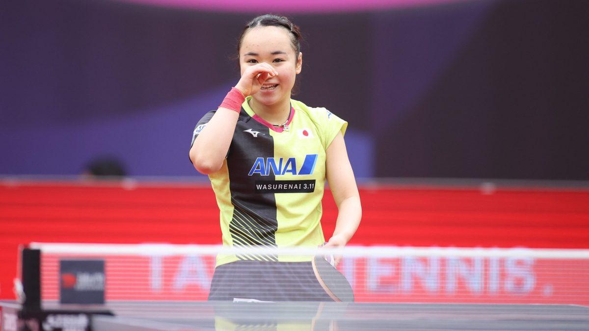 伊藤美誠、中国越えなるか 同年代の宿敵に挑む<卓球・女子W杯最終日見どころ>