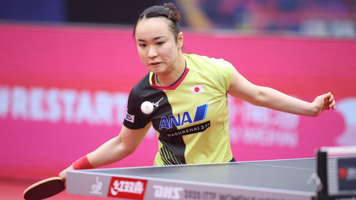 伊藤美誠、4強入り 多彩な技術で世界ランク26位を寄せ付けず<卓球・女子W杯>