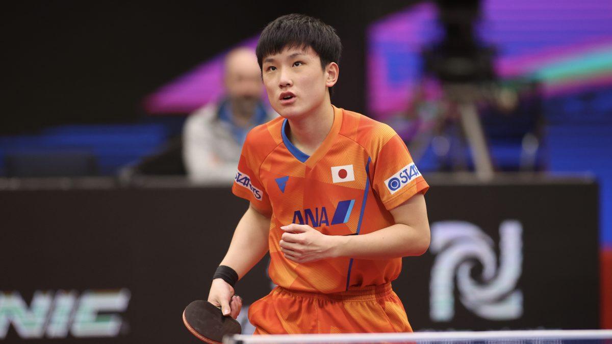 張本智和、初戦敗退 韓国エースにリベンジ許す<卓球ITTFファイナル>