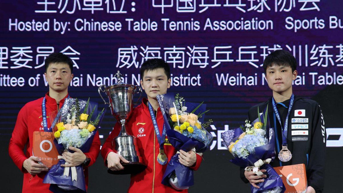 樊振東がW杯3連覇 張本智和は3位<卓球・男子W杯最終日総括>