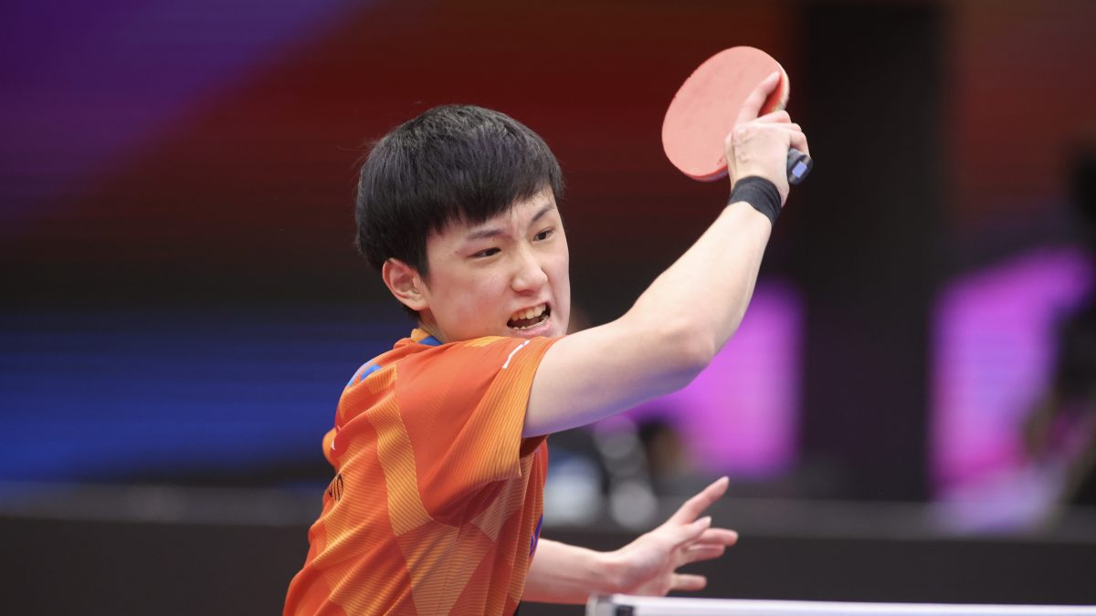 張本智和・17歳、巣ごもり期間にフォーム大改造 全ては卓球で世界を獲るため