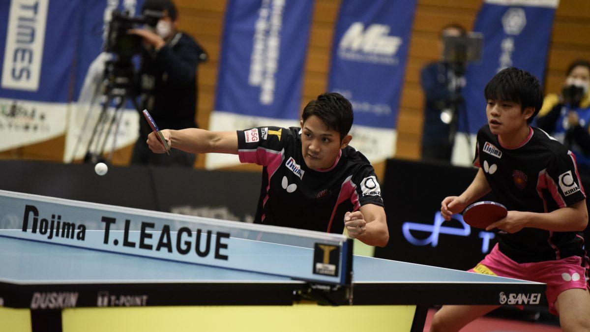 【今日のTリーグ】琉球が3連勝で首位 吉村兄弟、揃って勝ち星