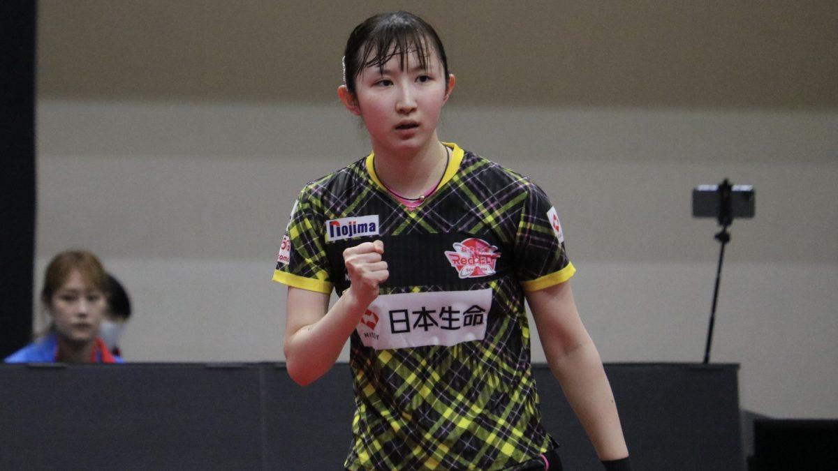 【今日のTリーグ】早田が今季初勝利、木村がリーグトップの3勝目