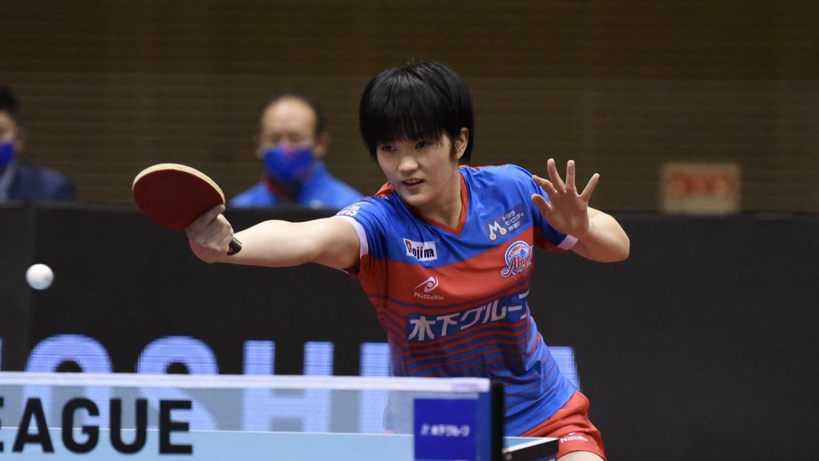 木原美悠、リーグトップの5勝目「なるべく多く勝ちたい」木下アビエル神奈川がストレート勝利