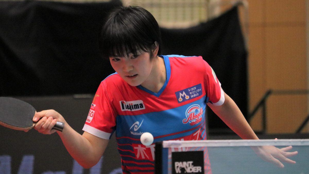 16歳・木原美悠「落ち着いてできている」大人の試合運びで勝利 チームは首位浮上