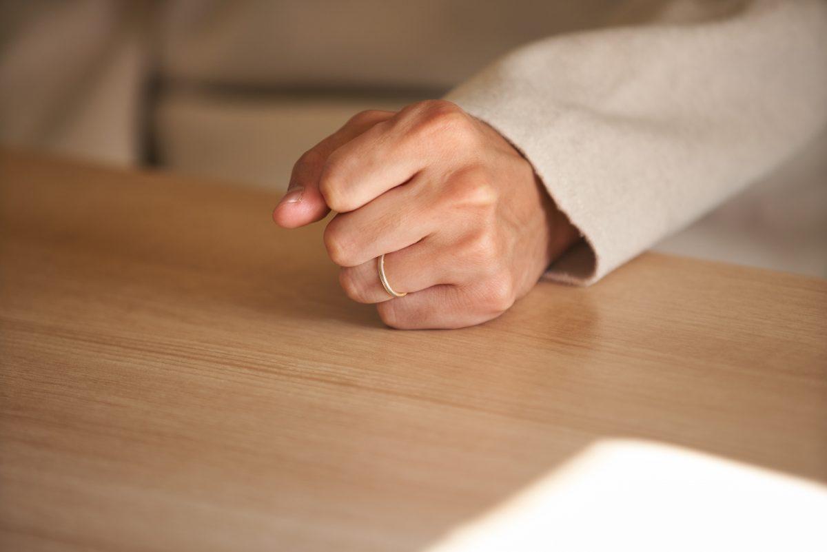 大島祐哉の結婚指輪