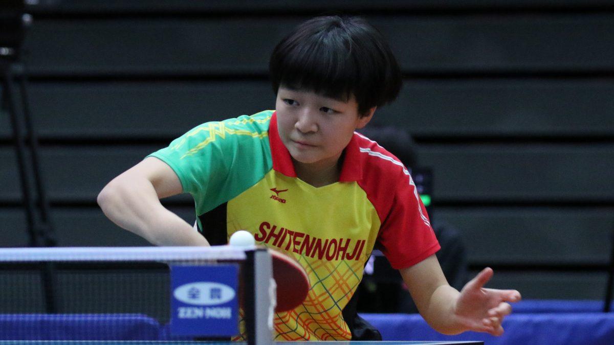 全日本卓球・ジュニア男女準決勝終了 男女ともに決勝は同校対決に